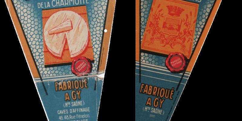 Etiquettes Brie La Charmotte