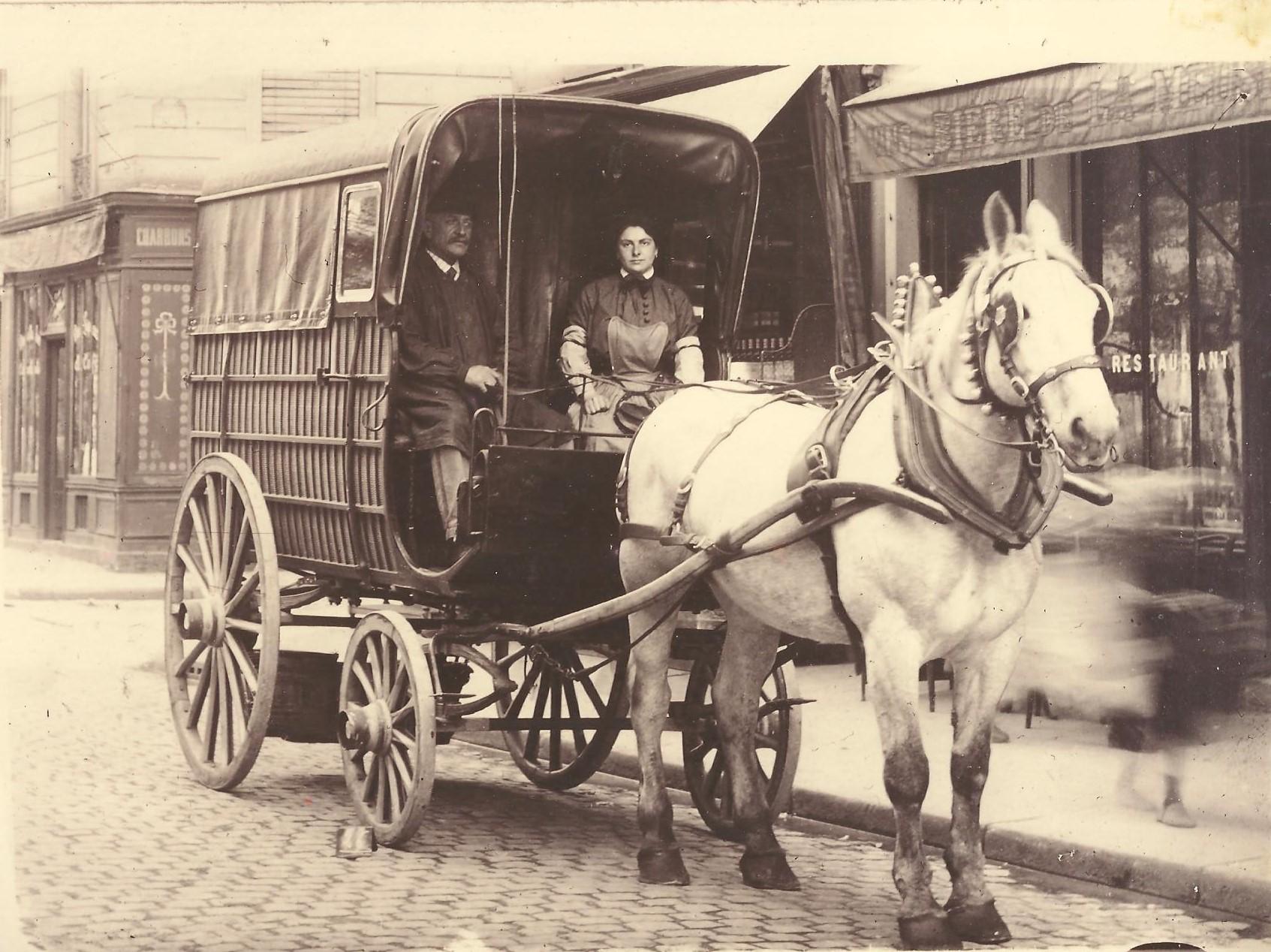 Mme Vve THORELLE en livraison à Paris