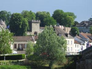 Gray vue sur château