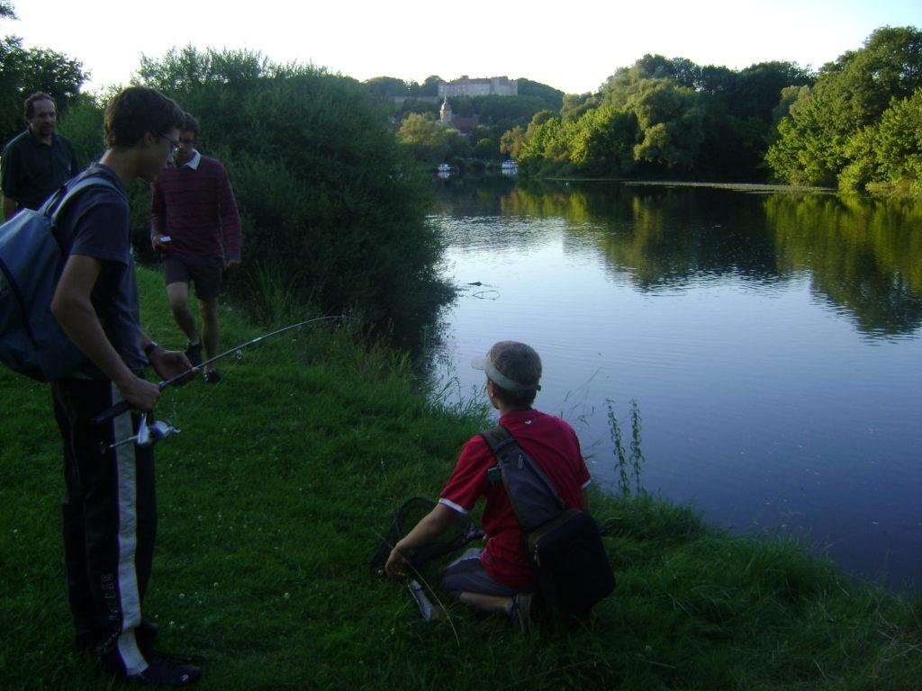 la pêche à Ray-sur-saone