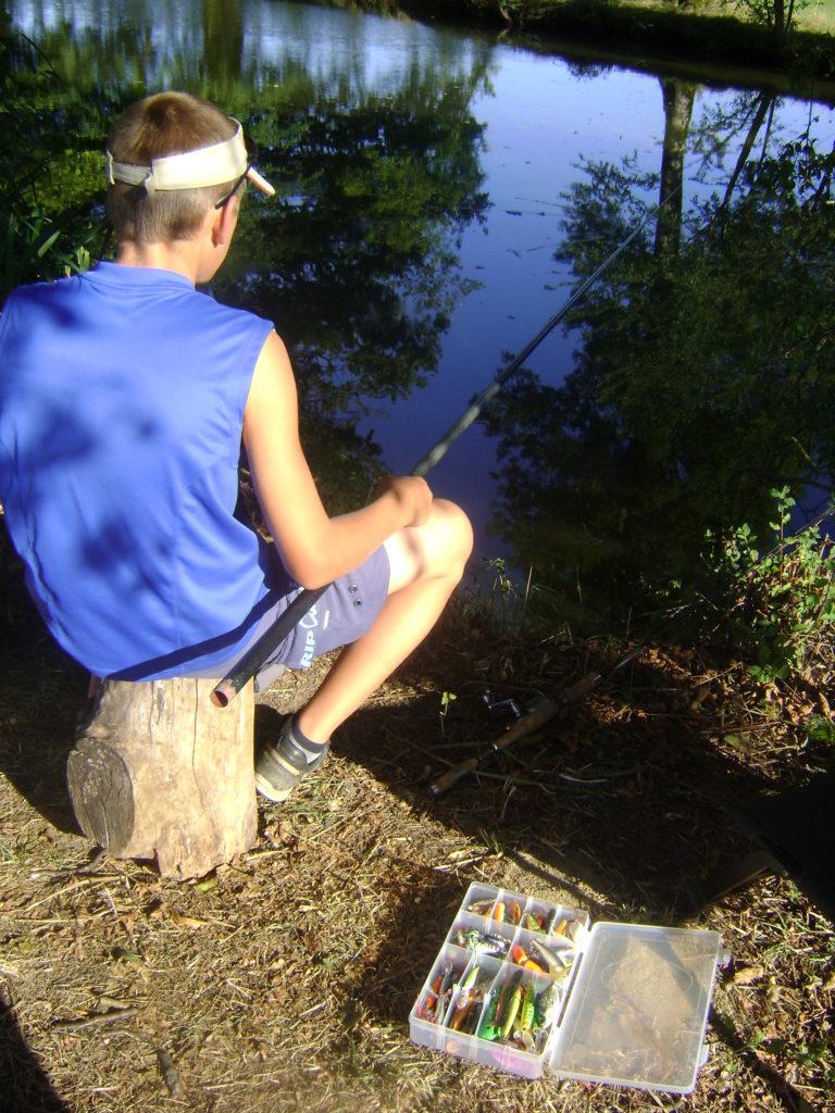 Pêche à l'étang de la charmotte