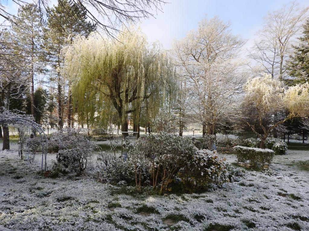 méli mélo de couleurs avec la fonte de la neige